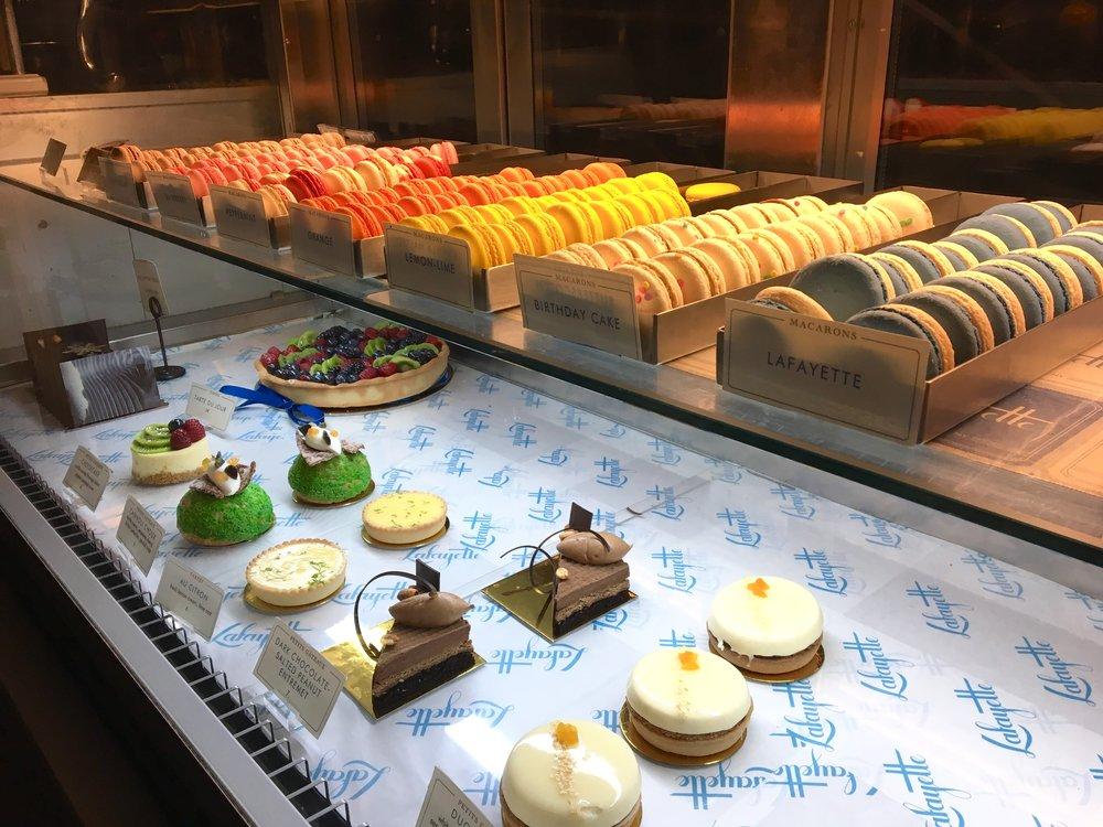 Their cute little bakery part :)