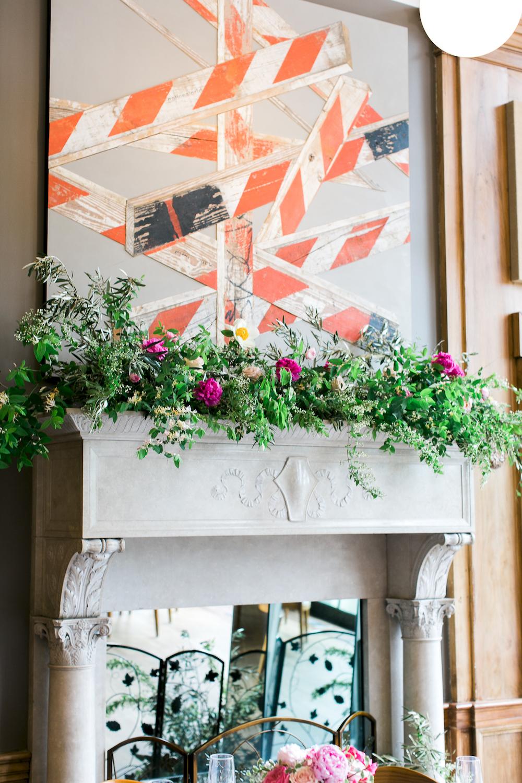 An intimate garden inspired affair jockey hollow bar and kitchen wedding florist colly flowers