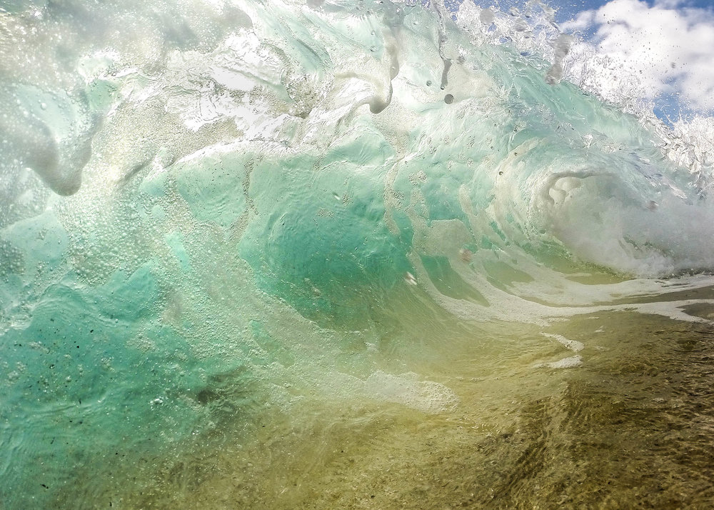 Waves - A look at the power of the ocean as it approaches the shoreline. My favorite collection to share with others who don't get the chance to see or experience it in person. Feel connected to the ocean from miles away by owning one of these colorful and thrilling photographs.