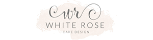 - White Rose Cake Design