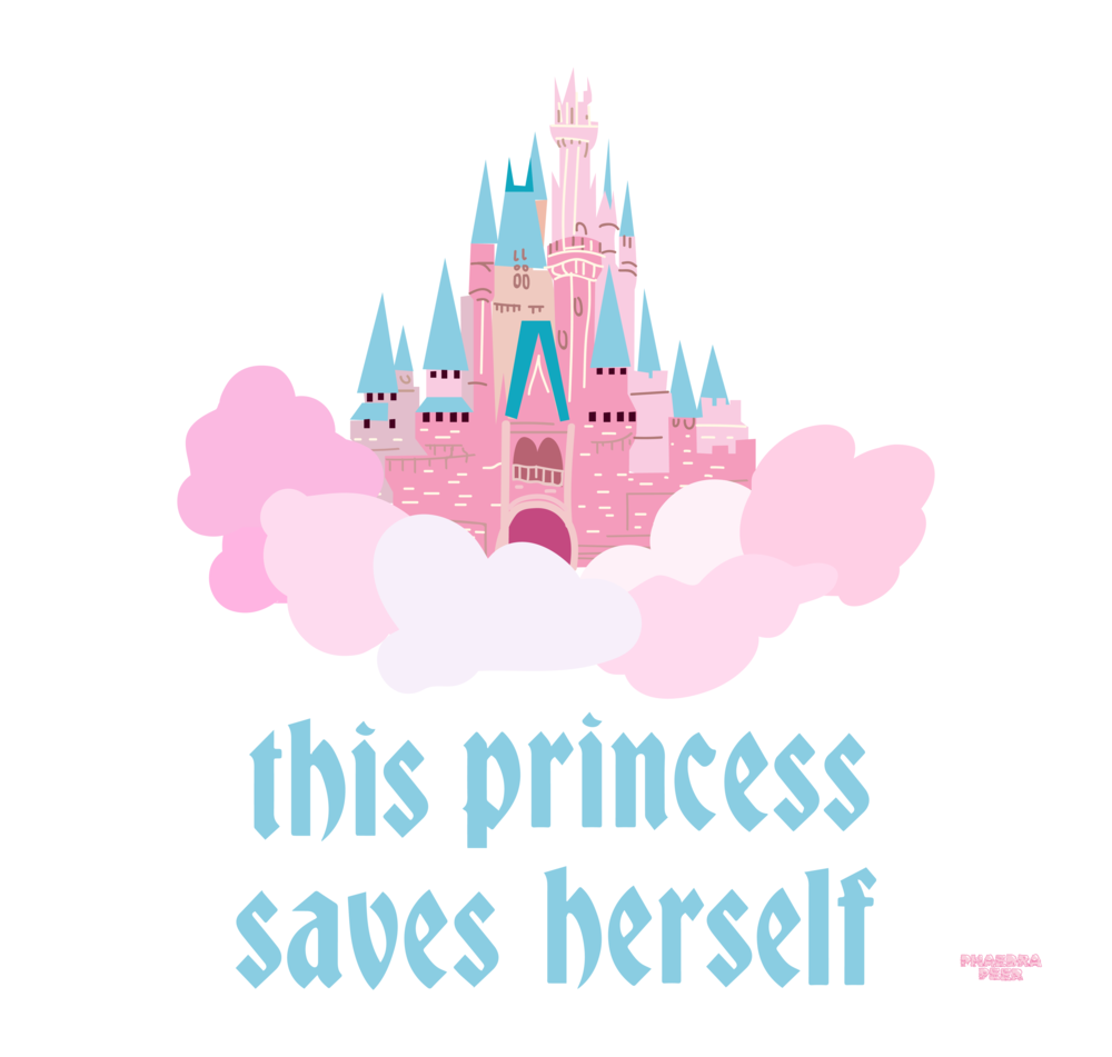 This Princess Saves Herself