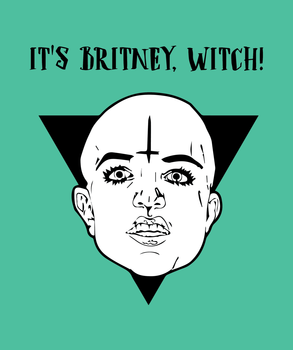 It's Britney, Witch!
