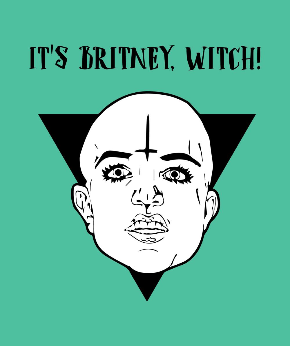 It's Britney, Witch!