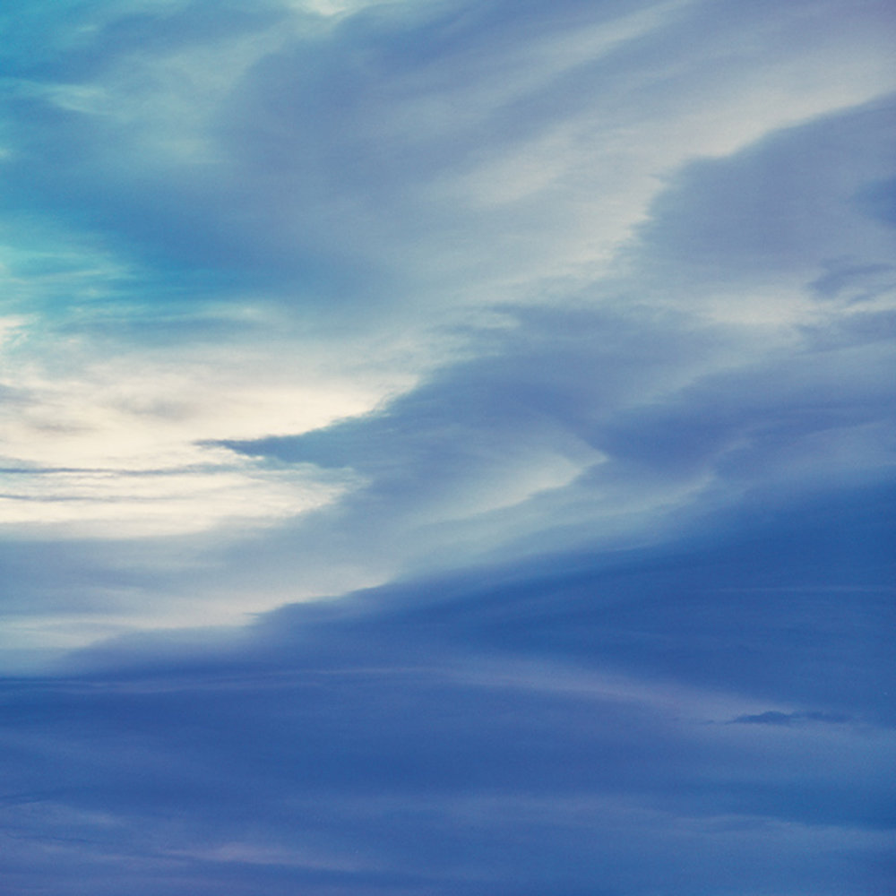 "Christopher Burkett ""Azure Morning Clouds"" Colorado Cibachrome Photograph Available in 20"" x 20"", 30"" x 30"", and 40"" x 40"""
