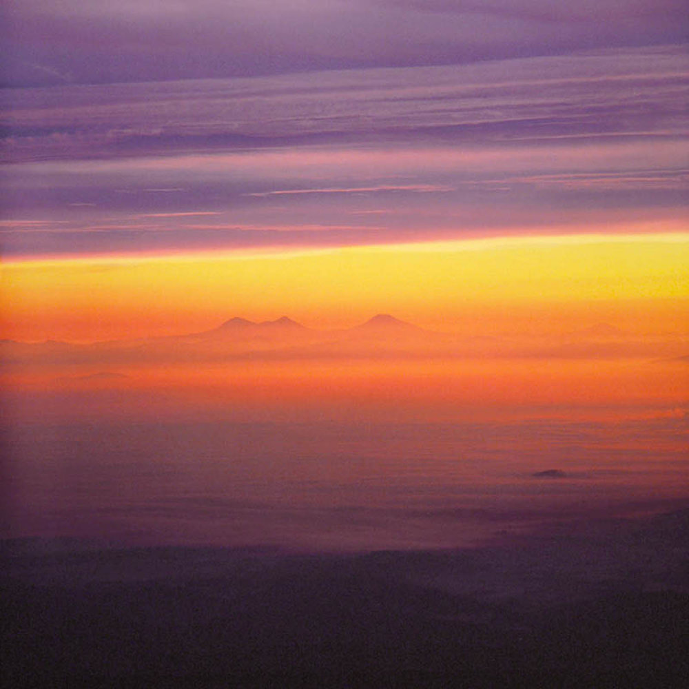 "Christopher Burkett ""Cascade Sunrise,"" Oregon Cibachrome Photograph Available in 20"" x 20"", 30"" x 30"", and 40"" x 40"""