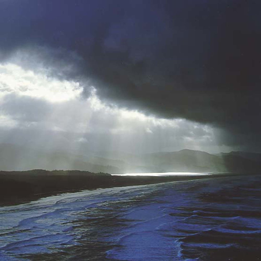 "Christopher Burkett   ""Coastal Storm,"" Oregon    Cibachrome Photograph    Available in 20"" x 20"", 30"" x 30"", and 40"" x 40"""