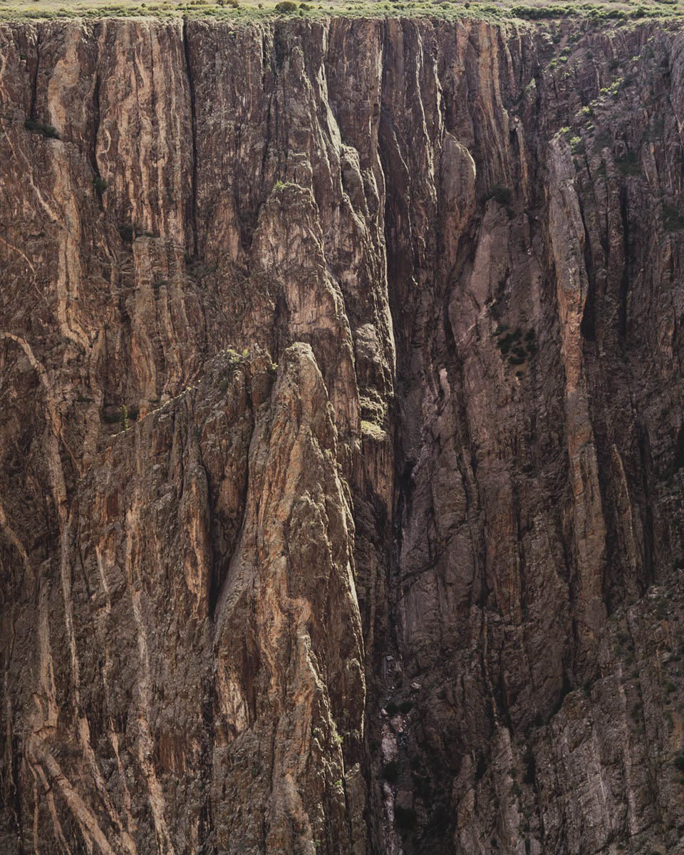 "Christopher Burkett ""Canyon Wall,"" colorado Cibachrome Photograph Available in 20"" x 24"", 30"" x 40"", and 40"" x 50"""