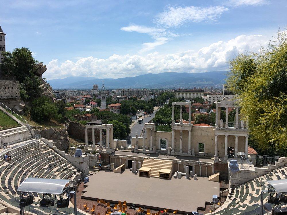 The Ancient Roman Theatre