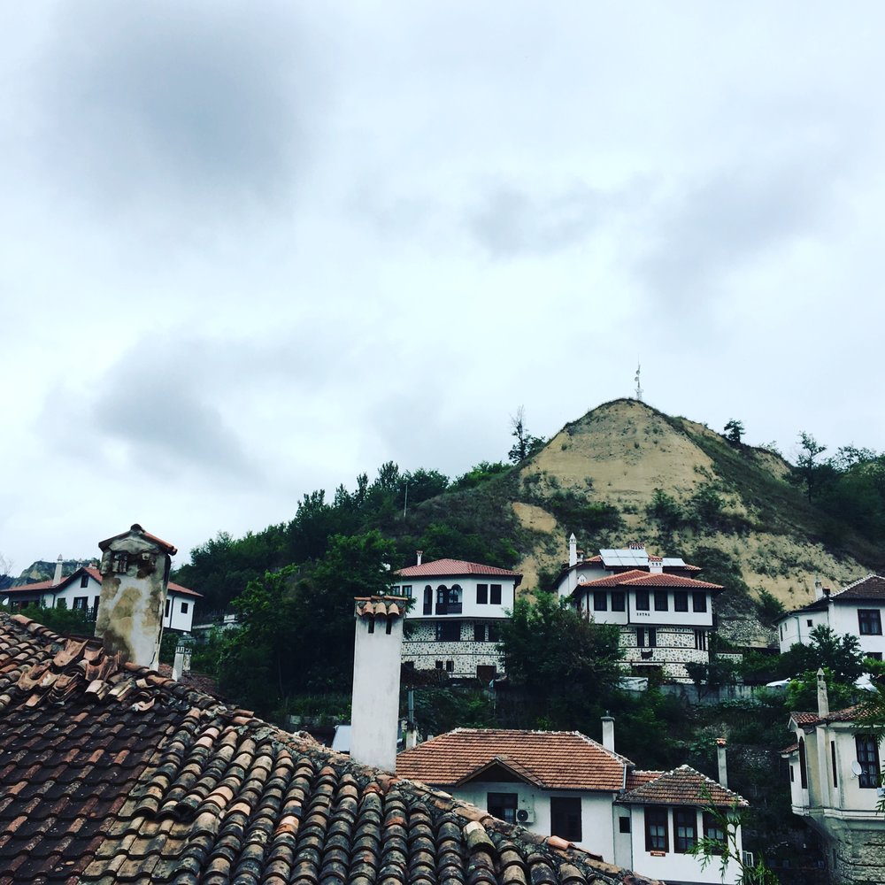 Melnik - the tiniest Bulgarian town, famous for its Bulgarian National Revival houses and sand pyramids