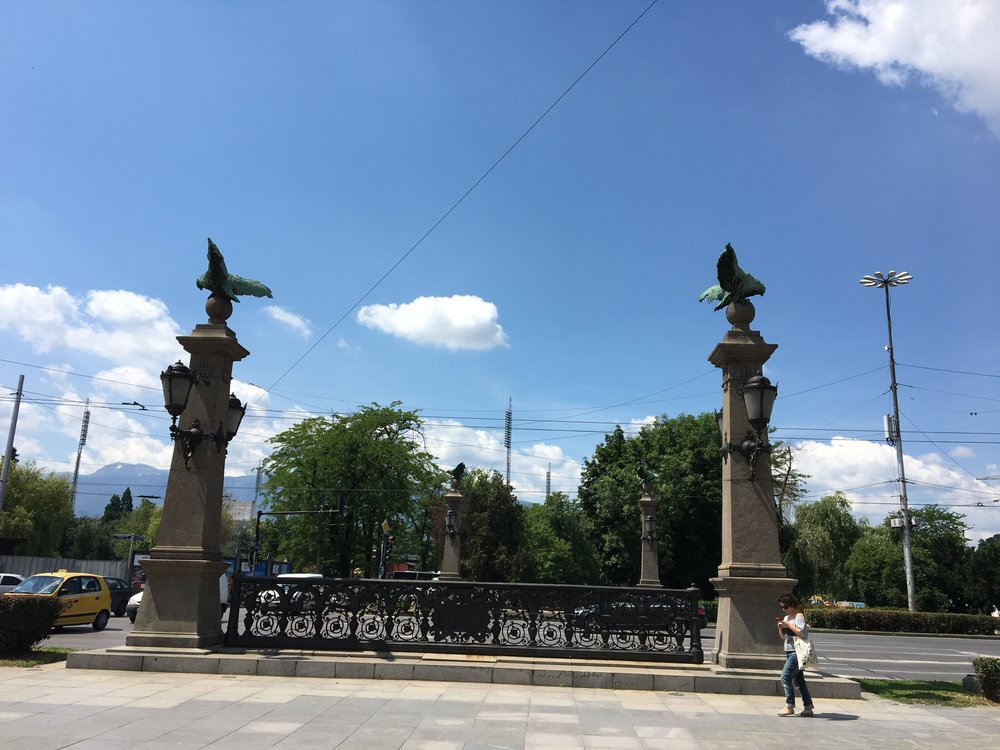 Eagles Bridge in Sofia - a beloved city landmark