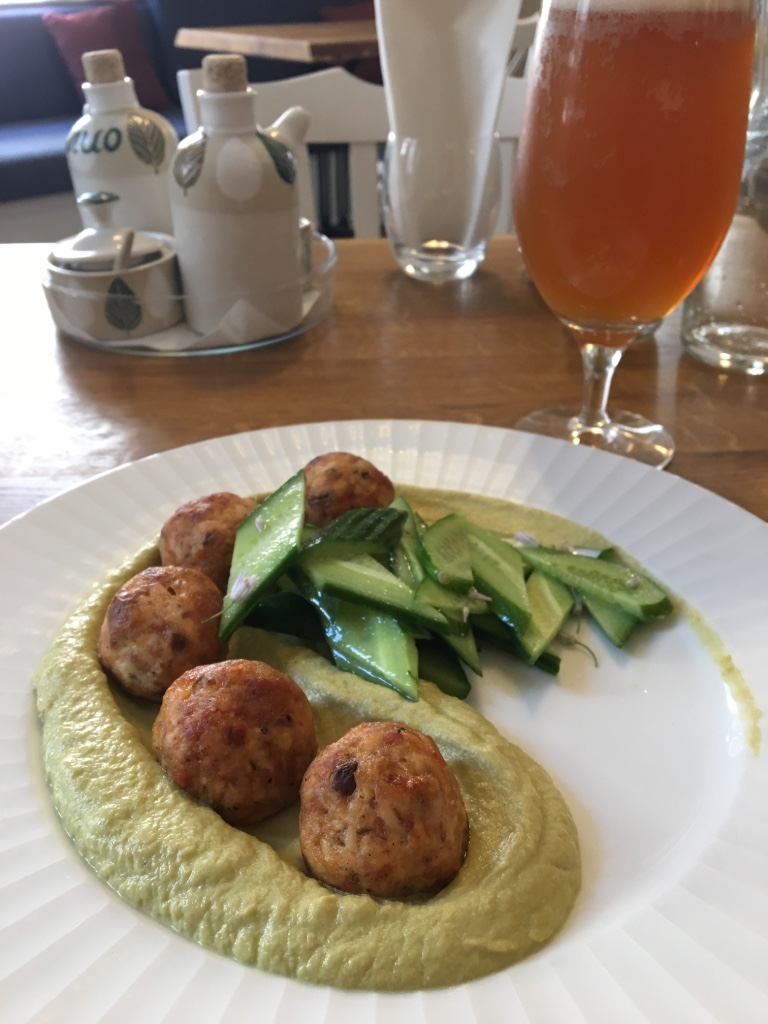 Chicken meatballs at Bagri