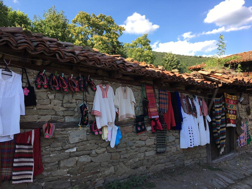 Zheravna textiles