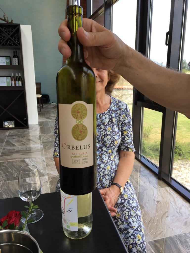Orbelus Mitra - named after the vineyard's caretaker
