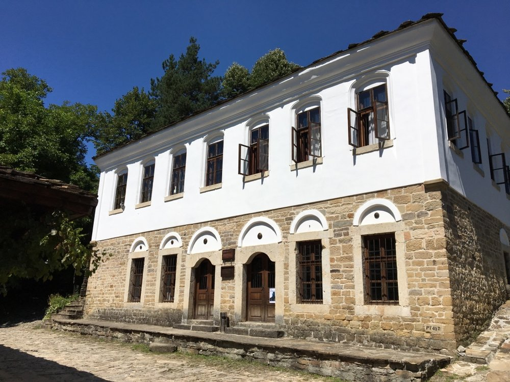 Village of Bozhentsi - the old school