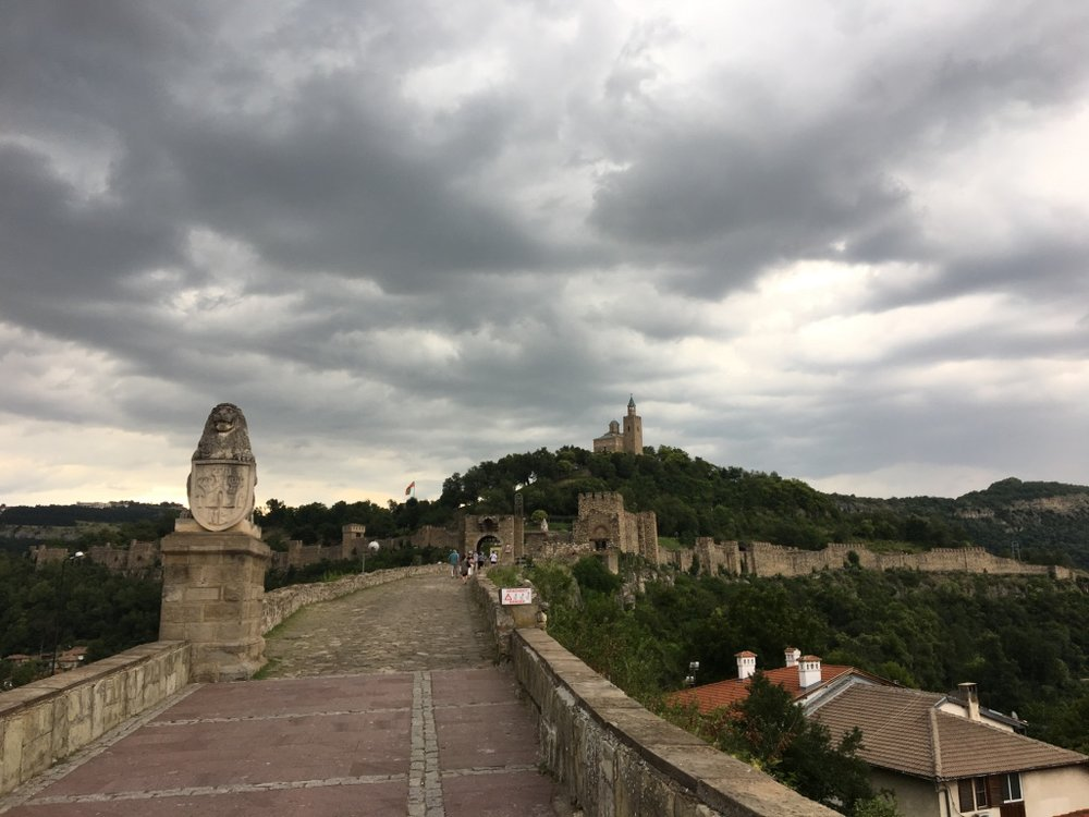 Veliko Tarnovo and the Tsarevets fortress