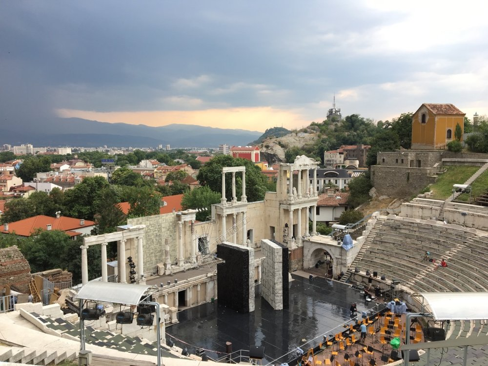 Roman Theatre in Plovdiv