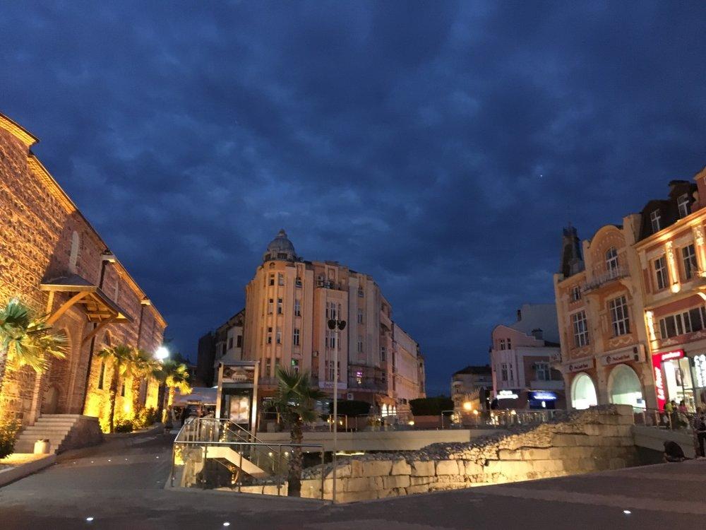 Plovdiv by night