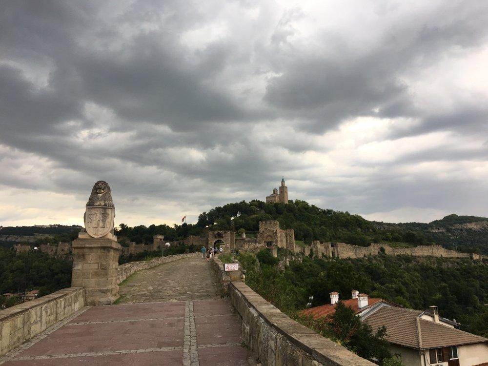 Veliko Tarnovo and the Tsarevets fortress