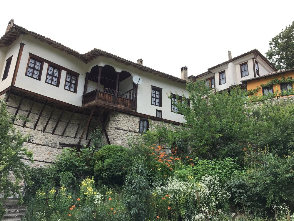 Bulgarian National Revival houses in Melnik