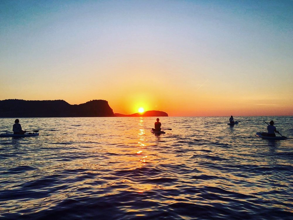 Yoga and meditation Ibiza SUP