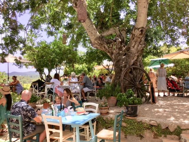 La Paloma Ibiza healthy restaurant