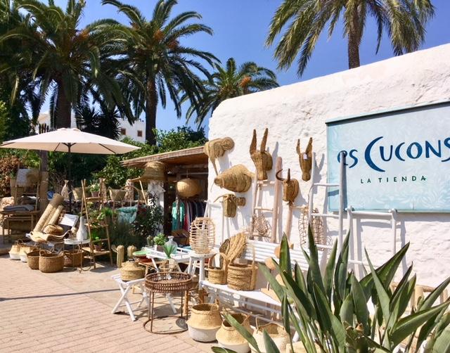 Es Cucons Santa Gertrudis Ibiza shopping