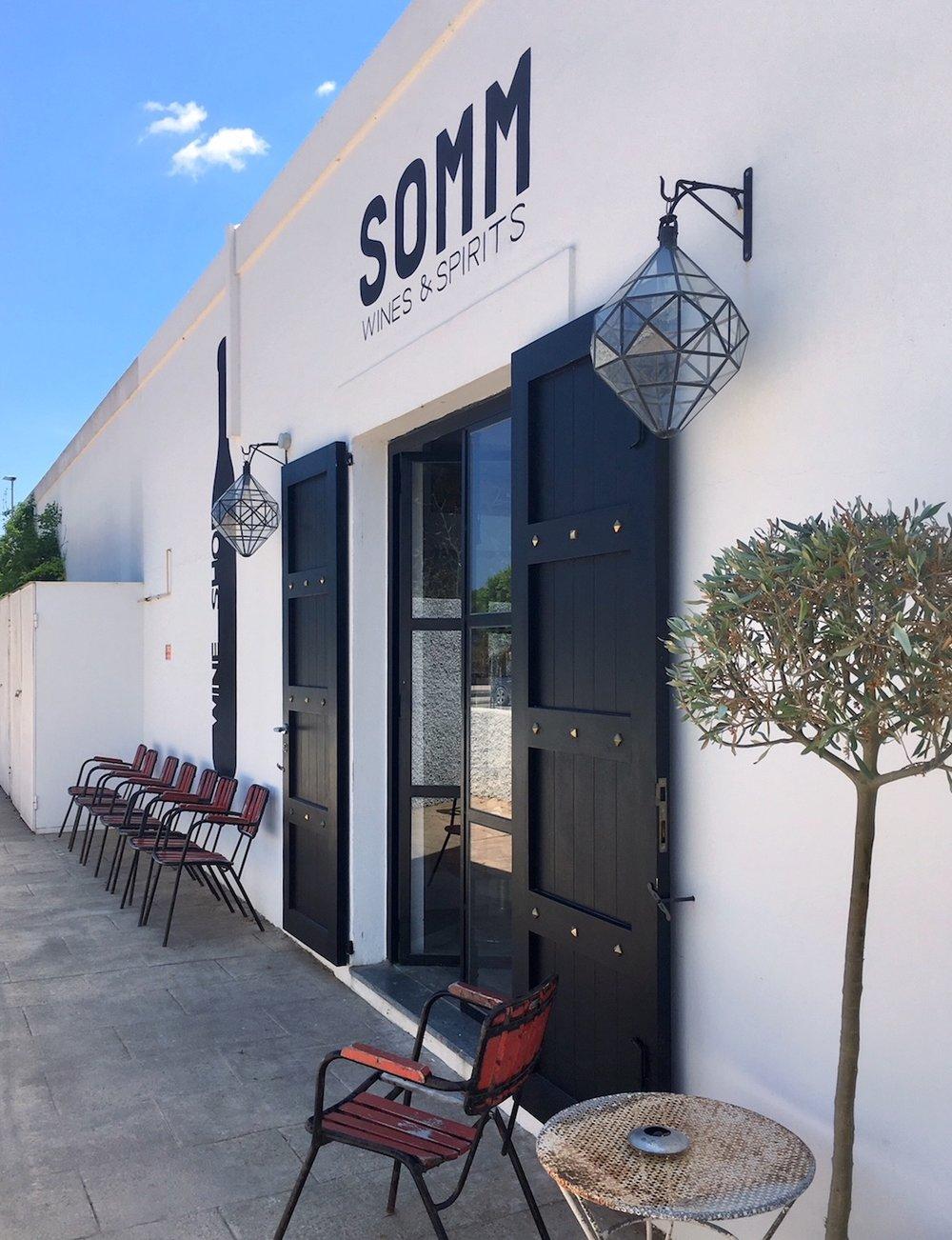 Somm wineshop Santa Gertrudis Ibiza