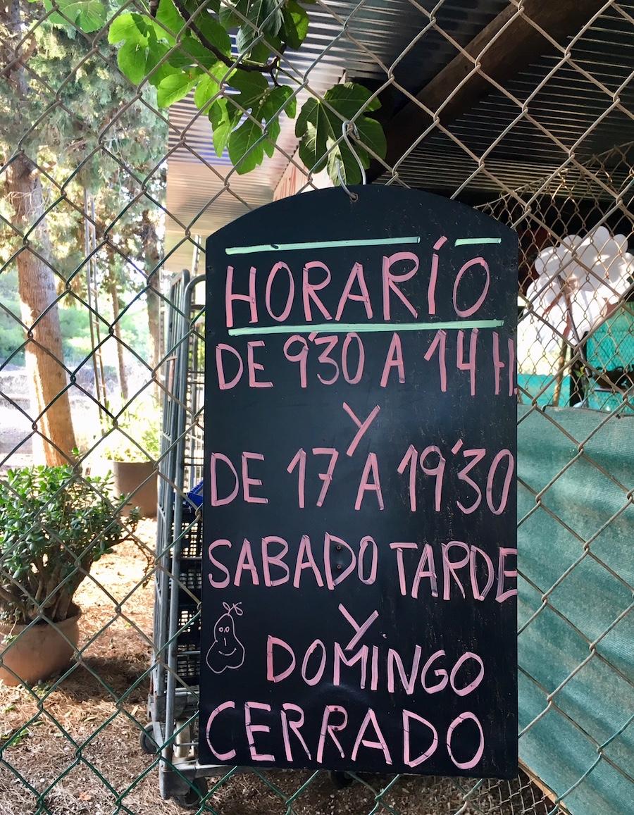 Organic health food shops Ibiza