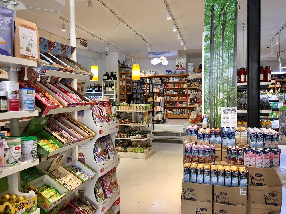 Ibiza health food shops