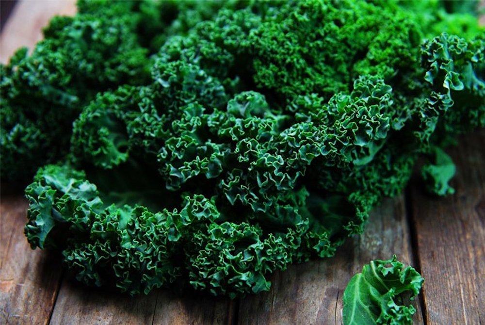 Healthy kale lymphatic detox