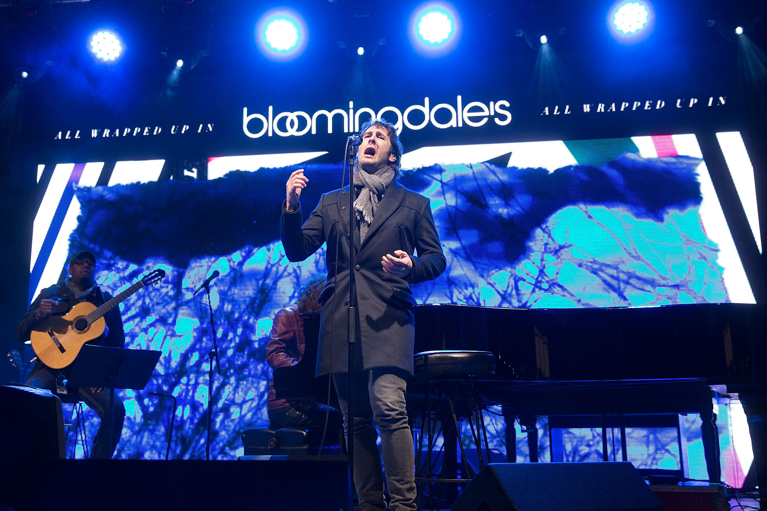 Bloomingdale's Holiday Window Unveiling With Josh Groban