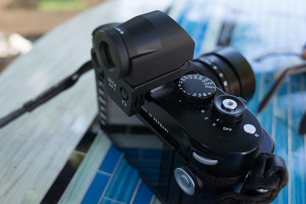 Leica EVF viewfinder