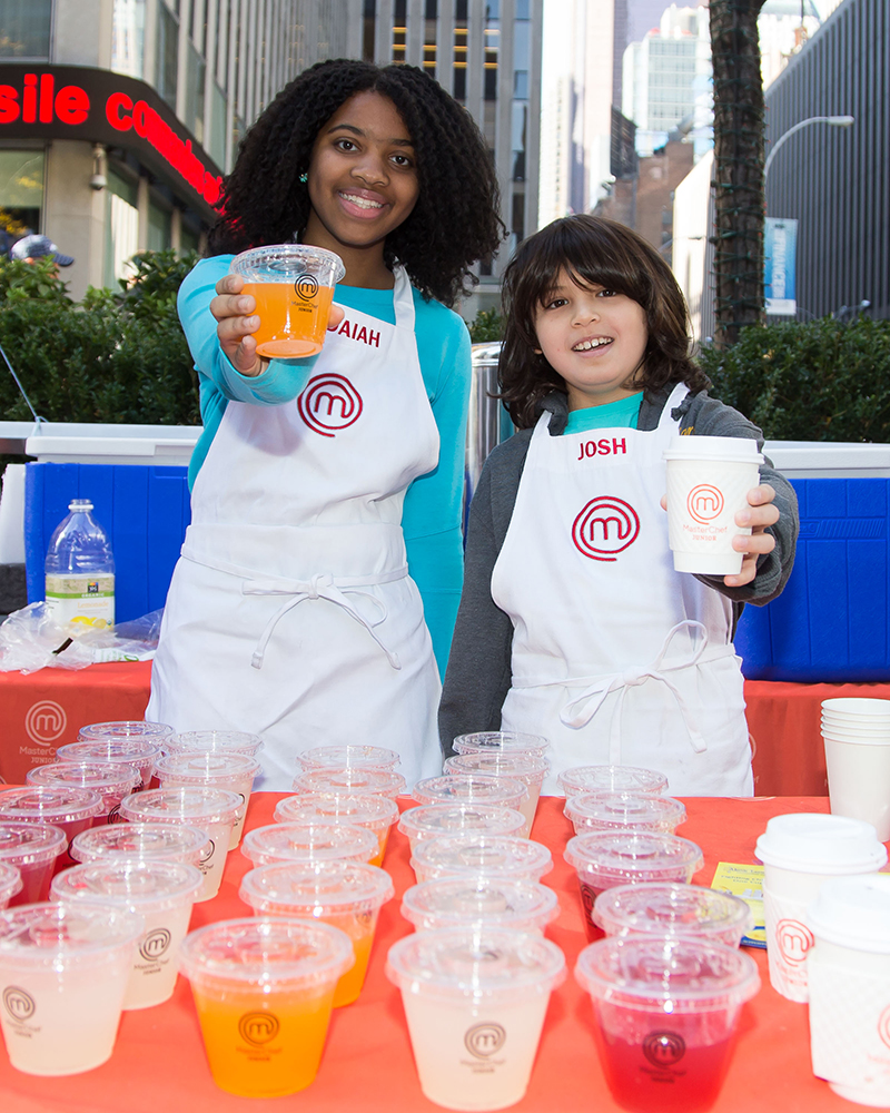 Masterchef Junior Pop-Up Lemonade Stand Hosted by FOX