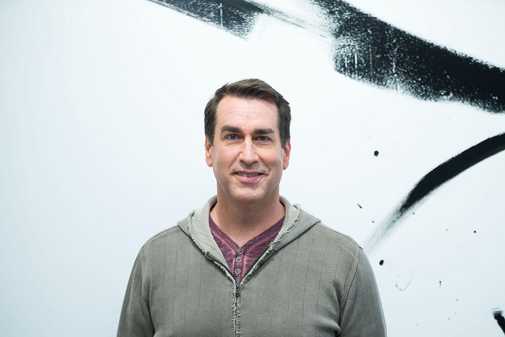 Rob Riggle at AOL