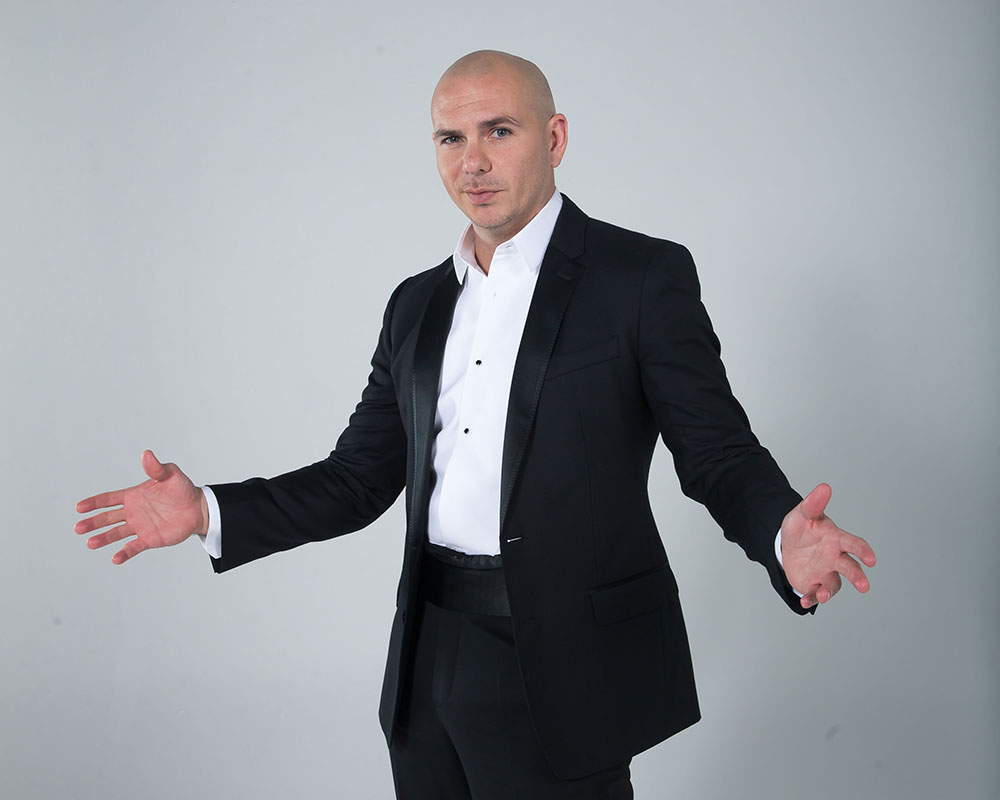 Pitbull portraits for Fox