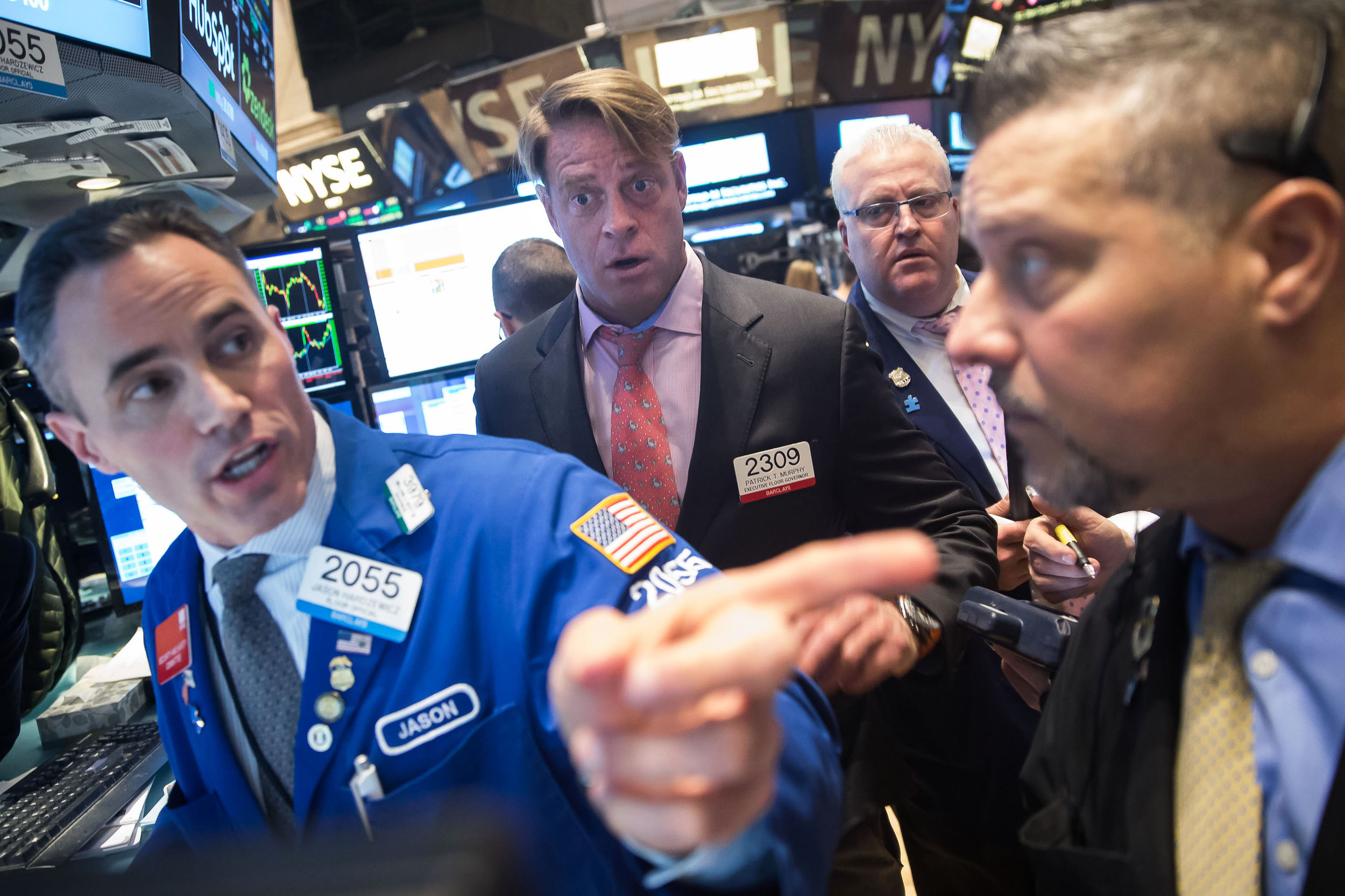 NYSE New York Stock Exchange Ben Hider