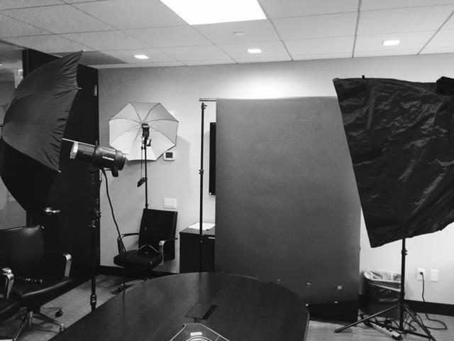 Portrait setup office business head shot headshot savage studio light lighting professional pro