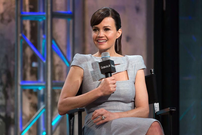 "AOL BUILD Speakers Series: Carla Gugino Discusses Her New Miniseries ""Wayward Pines"""