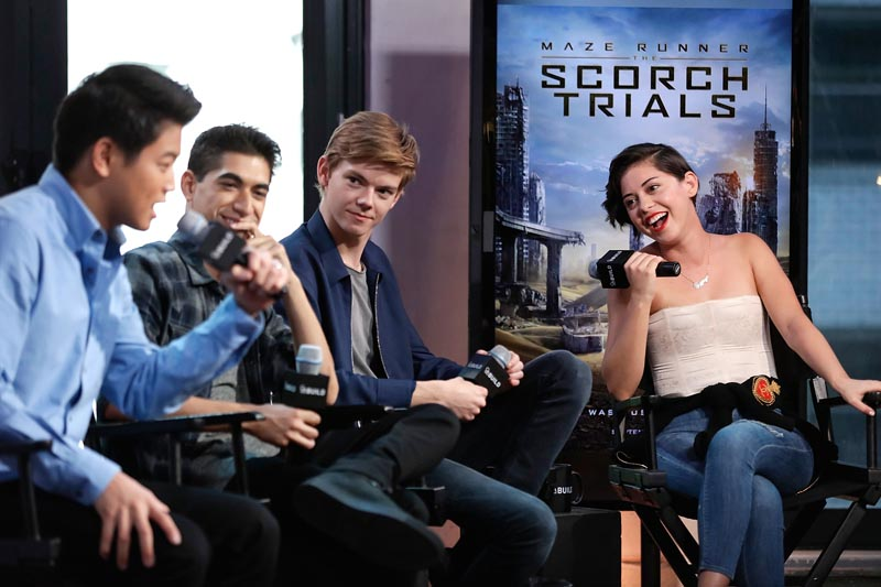 "AOL BUILD Speaker Series: ""Maze Runner: Scorch Trials"""