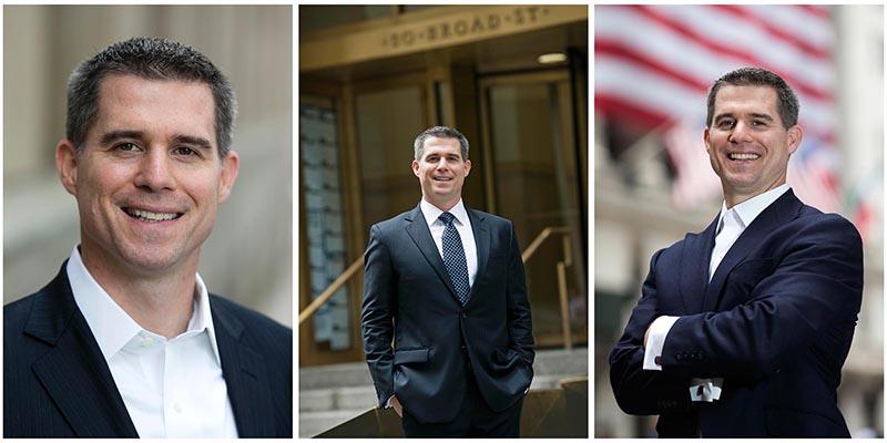 Professional headshot Portrait NY Wall Street