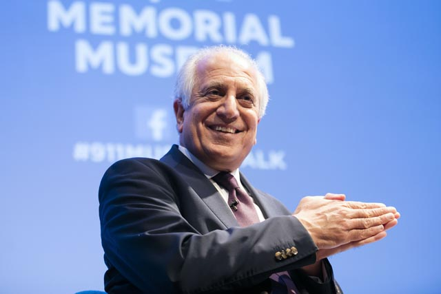 Zalmay Khalilzad at the 9/11 Museum