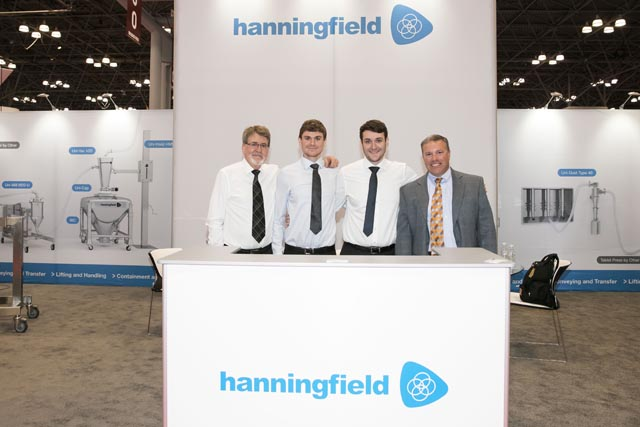 Hanningfield booth Interphex Jacob Javitz Center
