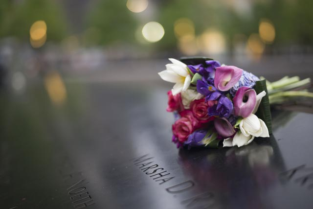 911 memorial museum speaker conference flowers