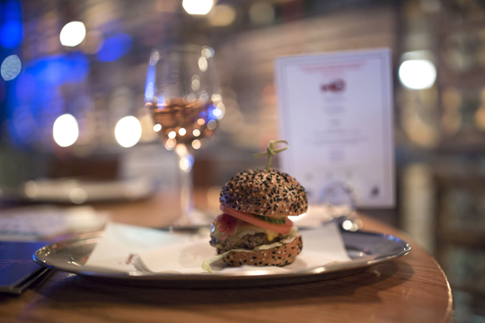 City Harvest Burger Lobster