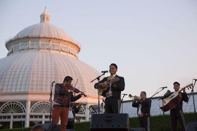 NYBG Concert Canciones de mi Padre Ernesto Villalobos Gizel Xanath Concert Photographer