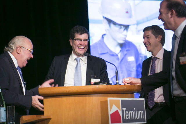 Ternium Investor Day at the Guggenheim in New York City