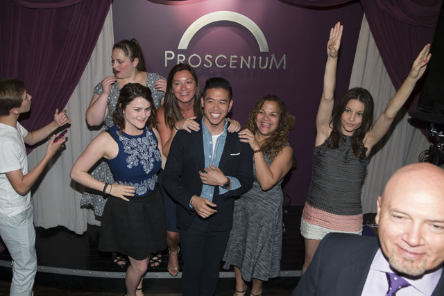 Proscenium Fifth Anniversary Party NY New York Ben hider Photographer