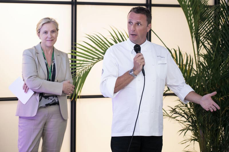City Harvest Summer Dinner Series Chef Marc Murphy Food Photographer Ben Hider