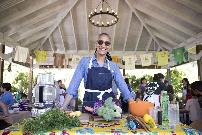 Carla Hall Chef Portrait