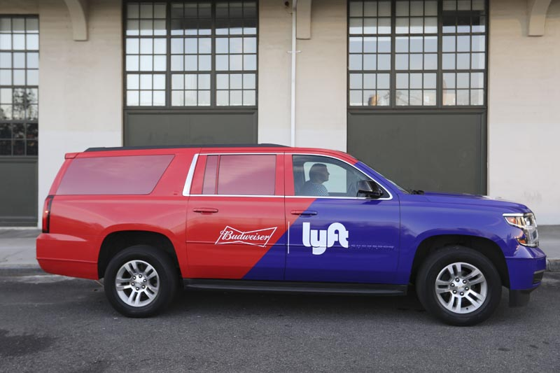 Budweiser Lyft Location photographer